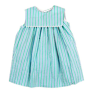 Bailey Boys- Mint Seersucker Float Dress