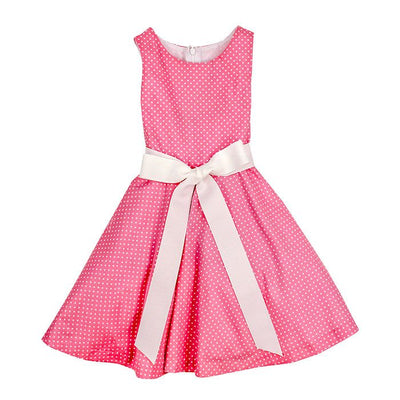 Bailey Boys- Flirty Pink Dot Dress