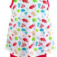 Tara Collection- Fish Shorts Set