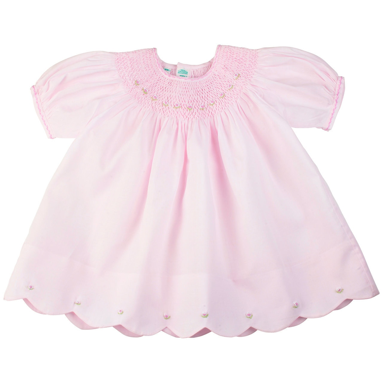 Feltman Brothers- Newborn Midgie Pink Dress/Panty