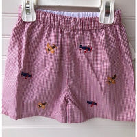 Zuccini- Airplanes Embroidered Short Set