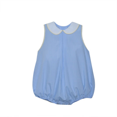 Lullaby Set- Jordan Blue Stripe Bubble