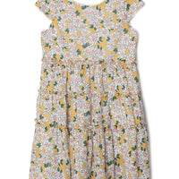 Mabel & Honey- Yellow Natural Breeze Dress