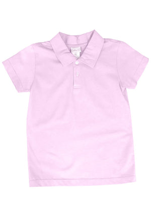 Lullaby Set- Parker Pink Polo