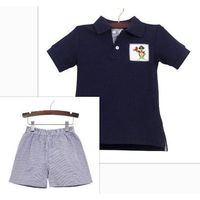Zuccini- Pirate Animals Polo/Short Set