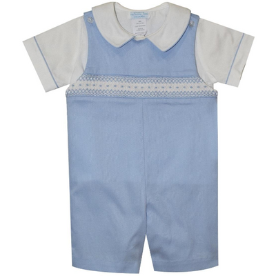 Collection Bebe- Andy Smocked Pique Shortall w/Shirt