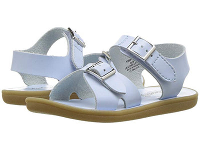 Footmates- Tide Lt Blue Sandals