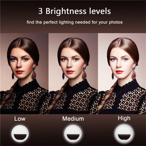 Image of New Arrival! Selfie Camera Phone/Tablet/Laptop Photography Ring Light