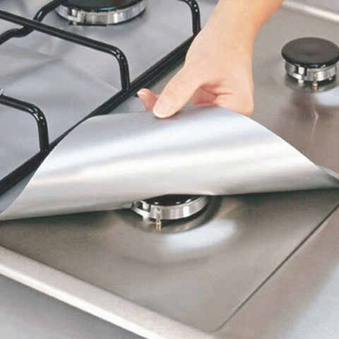 Image of Reusable Stovetop Liners (Set of 4)