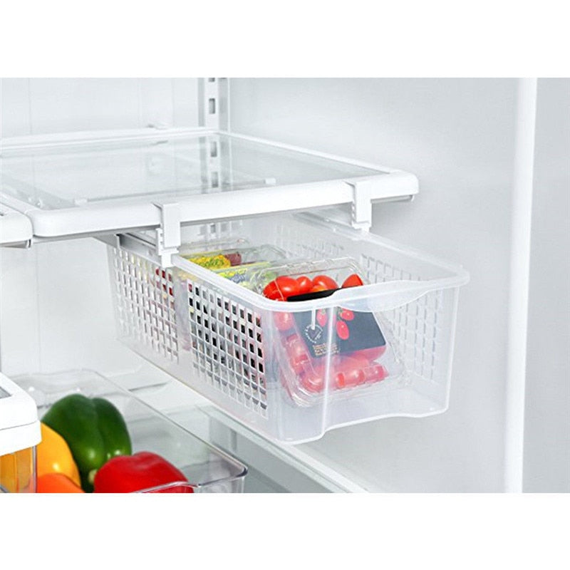 Refrigerator Pull Out Bin