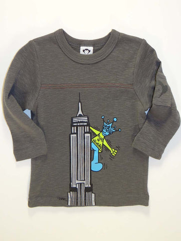 Appaman Infant ACC King of NY Long Sleeve Shirt