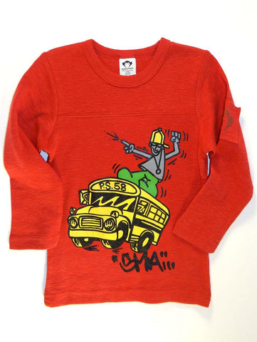 Appaman ACC Schoolbus Long Sleeve Shirt