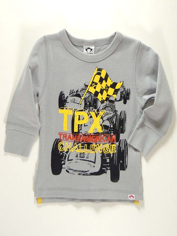 Appaman Infant Grand Prix Long Sleeve Shirt