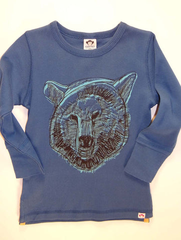 Appaman Infant Grizzly Long Sleeve Shirt