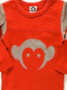 Appaman Infant Hockey Jersey Long Sleeve Shirt Rusted Red