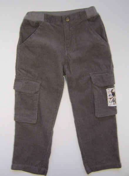 Monster Republic Grey Cord Cargo Pants
