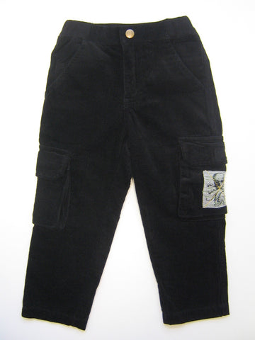 Monster Republic Black Cord Cargo Pants