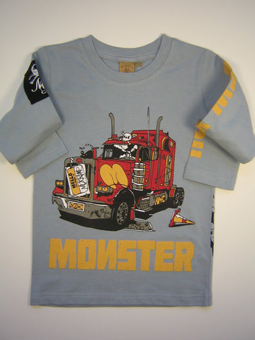 Monster Republic Big Semi Long Sleeve Shirt