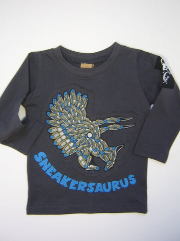 Monster Republic Sneakersaurus Long Sleeve Shirt