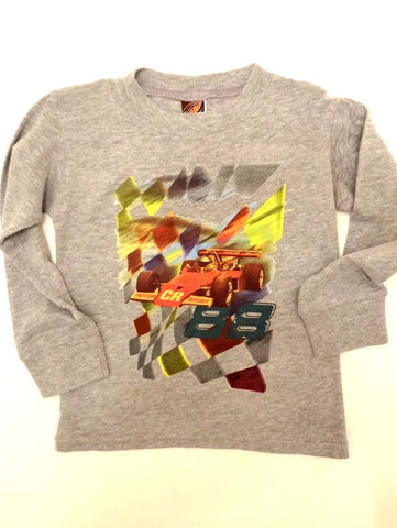 Charlie Rocket 88 Racecar Long Sleeve Tee
