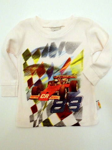 Charlie Rocket Infant 88 Racecar Long Sleeve Tee