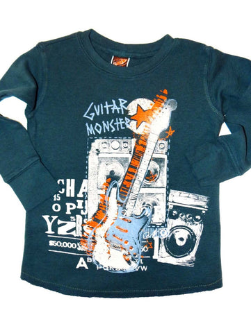 Charlie Rocket Monster Guitar Long Sleeve Thermal