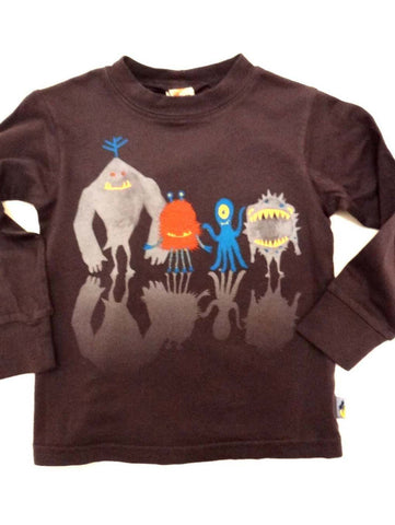 Charlie Rocket Monster Line Up Long Sleeve Tee