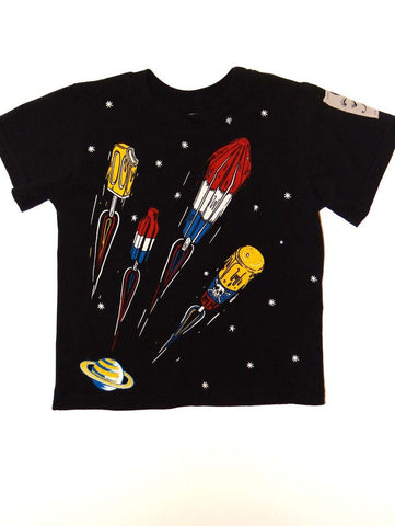 Monster Republic Popsicle Rockets Short Sleeve Shirt