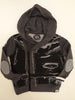 Mini Shatsu Leather On Tour Vest Hoodie
