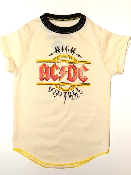 Rowdy Sprout AC/DC Short Sleeve Shirt