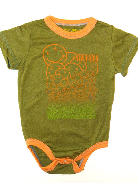 Rowdy Sprout Nirvana Short Sleeve One Piece