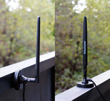 Heavy Duty 7 dBi Wi-Fi Antenna w/ RP-SMA Extension Cable & Magnet Base for Bearifi PC