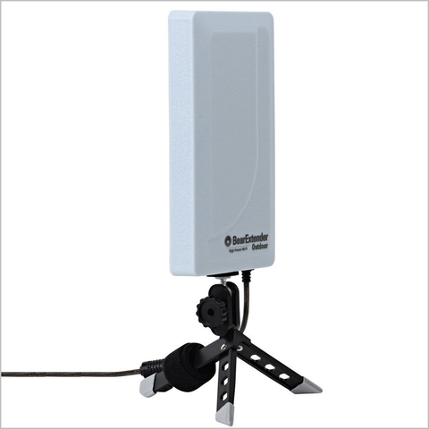BearExtender Outdoor High Power USB Wi-Fi Extender for Marine/RV (1st gen 2.4 GHz only)