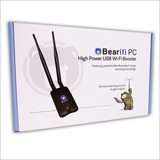 Bearifi BearExtender PC v4 Long Range USB WiFi Booster for Microsoft Windows