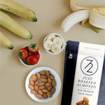 *ORDER NOW* 72 hour Just Roasted Almonds (Lightly Salted - 2, 4, & 8 Pack)