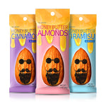 THE HIPSTER ALMONDS (HONEY + BUTTER BASED ALMONDS / 1 OZ X 15)