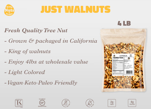 DAILY NUTS PREMIUM WALNUTS (4 LB)