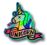 Muestra de Saka Unicorn + Limited Edition Unicorn Sticker