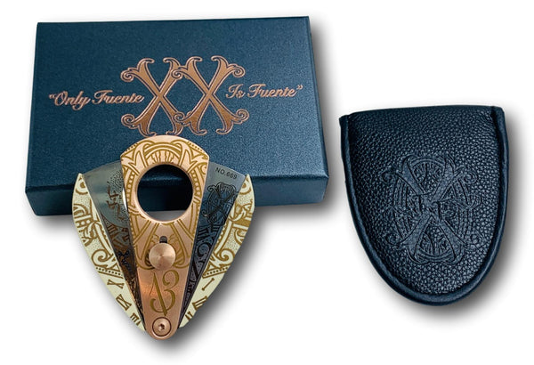 Arturo Fuente Limited Edition Xikar OpusX Father and Son Cigar Cutter