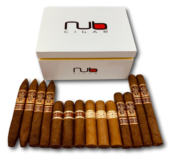 Oliva Nub Humidor + 14 Cigars assortment