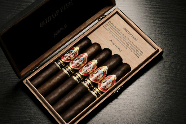 God of Fire Serie B 5 Cigar assortment