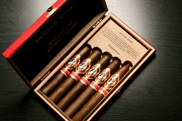 God of Fire By Carlito 5 Cigar assortment