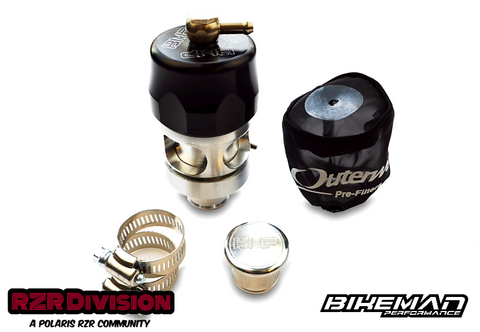 RZR TURBO BILLET ALUMINUM ATMOSPHERIC BLOW-OFF VALVE (BMP)