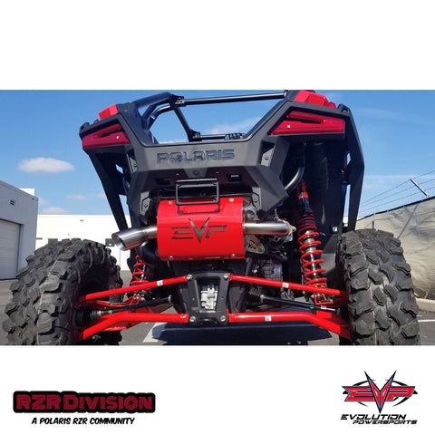 "RZR PRO-XP TURBO ""MAGNUM"" SLIP-ON EXHAUST"