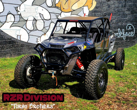 "RZR TURBO-S ""Pre-Runner SHORTY CAGE"