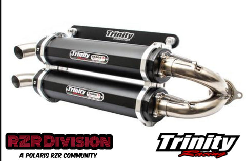 PERFORMANCE DUAL EXHAUST (TRINITY RACING)