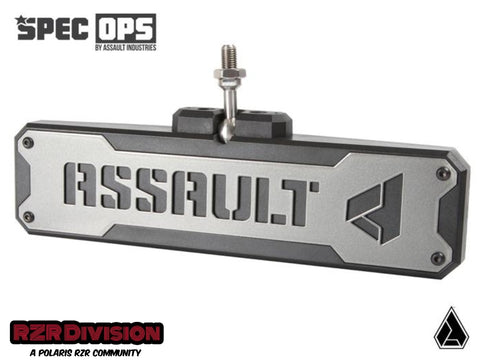 ASSAULT INDUSTRIES SPEC OPS SERIES BOMBER CONVEX CENTER MIRROR