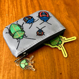 Koa Bug Love Coin Pouch and Sticker
