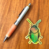 Holographic Koa Bug Sticker