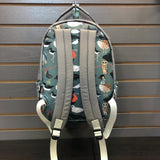 backpack back with adjustable straps